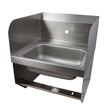 "BK Resources BKHS-W-1410-1-SS-BKK - Hand Sink, wall mount, 14 x 10""D x 5""D bowl"