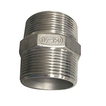 "BK Resources BK-LDA - Lever Drain Coupling, 1-1/2"" male to male, Stainless Steel"