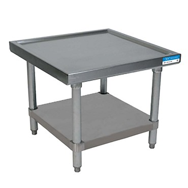 "BK Resources MST-3630SS - Machine Stand, Stainless Steel base, 36""L x 30 x 20"" H"