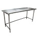BK Resources CTTOB-7230 - Work Table, 72 x 30'D, 16 gauge, galvanized bracing