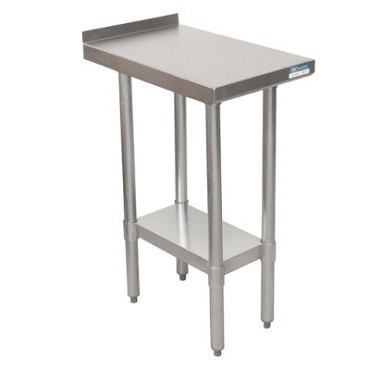 "BK Resources VFTS-1824 - Work Table, 12""-21"", Stainless Steel Top"