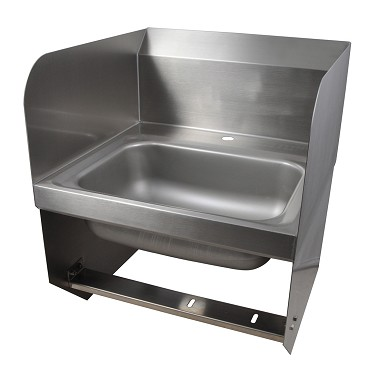 BK Resources BKHS-D-1410-1-SS-BKK - Hand Sink, wall mount, sink only