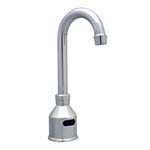 BK Resources BKF-DEF-3G - 3in Goose Neck Spout, Deck Mount Electronic Faucet