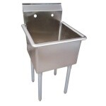 BK Resources BKUS-1-18-14 - Utility Sink, one compartment, 18