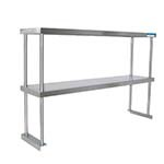 BK Resources BK-OSD-1836 - Double Overshelf, table mount, 36 x 18