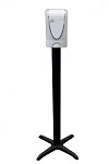 BK Resources BKSBA-10 - Sanitizer stand, universal theft resistant mounting plate