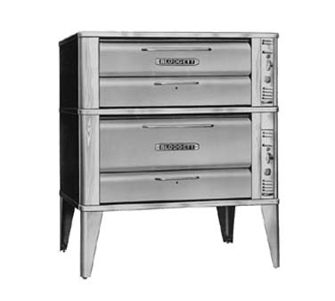 "Blodgett 961-951 - Oven, deck-type, gas, 42""W x 32""D interior, (1) 7"" high section, (1) 12"" high section,"