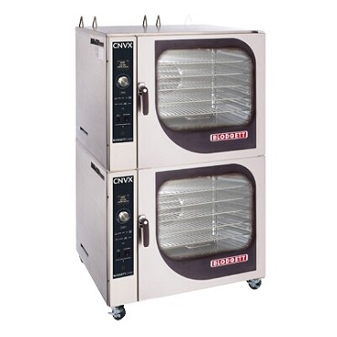 "Blodgett CNVX-14G DBL - Convection Oven, gas, stacked, (14) 12"" x 20"" x 2.5"" full size hotel pan"