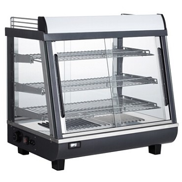 "BakeMax BMTSC27 - Heated Countertop Display Case, full/self service, 27""W, 85°F-190°F"