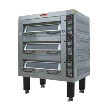 "BakeMax BMDDD03 - Triple Deck Oven, electric, accommodates (6) 18"" x 26"" pans"