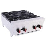BakeMax BAFA4M-24 - Hot plate, gas, countertop, 24