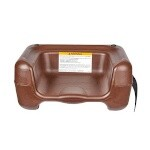 Koala Kare KB855-09S - Booster Seat, dual height, with strap, brown (4 per Case)