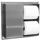 Bobrick B-386 - Partition Mounted Multi Roll Toilet Tissue Dispenser, serves two