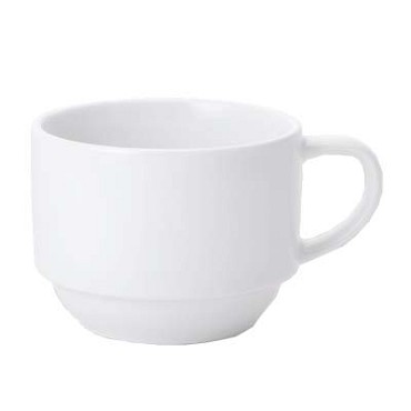 Bon Chef 1000005P - Demi Cup, 4 oz., 3-1/5 x 2-3/5 x 2 in., porcelain, (Case of 36)