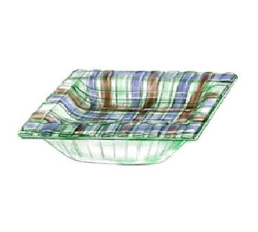 "Bon Chef 100216 - Basketweave Collection Bowl, square, 8"" x 8"" x 3"" H, glass, (Case of 6)"