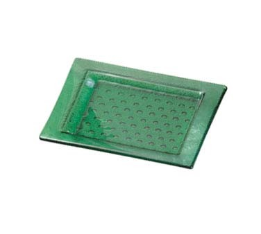 "Bon Chef 100412 - Country Collection Tray, rectangle, 16"" x 10"", glass, (Case of 6)"
