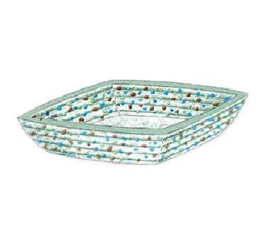 "Bon Chef 100514 - Pebbles Collection Bowl, square, 10"" x 10"" x 4"" H, glass, (Case of 6)"