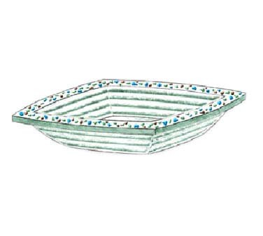 "Bon Chef 100515 - Pebbles Collection Bowl, square, 12"" x 12"" x 4.5"" H, glass, (Case of 6)"