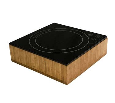 "Bon Chef 12086BOX - Induction Range Box, 11-7/8"" x 11-7/8 x 2.75"" H, square"