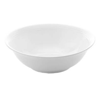 Bon Chef 1300000P - Circles Bowl, 7 dia. x 2-1/5 in., round, coupe, white, (Case of 36)