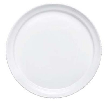 Bon Chef 1500004P - Mid Century Plate, 8 x 8 x  1-1/10 in., round, porcelain, (Case of 36)