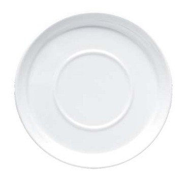 Bon Chef 1500006P - Mid Century Saucer, 6 in. dia., round, porcelain, (Case of 36)