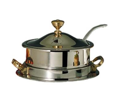 Bon Chef 30002HLSC - Drop-In Soup Well, 8 qt., with (12090) electric heater & hi
