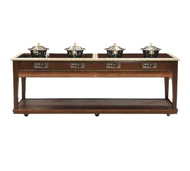 "Bon Chef 50121-1 - Residential Contemporary Induction Buffet, 96""W x 34""D x 36"