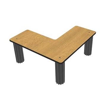 Bon chef 50214wvwalnut flex table top shelf 30 x 12 for 12 x 30 table
