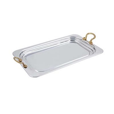 "Bon Chef 5207HR - Food Pan, full size, 4-1/2 qt., 21-1/2"" x 13-1/2"" x 1-1/4"" , wi"