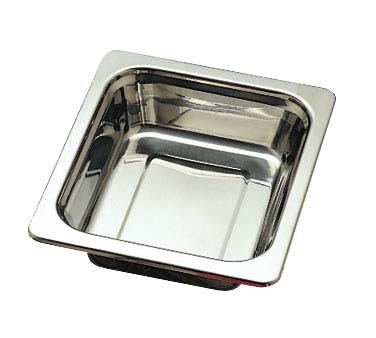 "Bon Chef 5209 - Food Pan, 1/2 size, 3 qt., 10.5"" x 13"" x 2.75"", plain design"