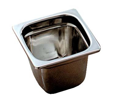 "Bon Chef 5221 - Space Saver Bowl, 6"" x 6"" x 4-3/4"" , stainless steel, NSF"