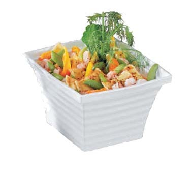 "Bon Chef 53101 - Americana Bowl, 6 qt., 10.25"" x 9"" x 6"", square, (Case of 6)"