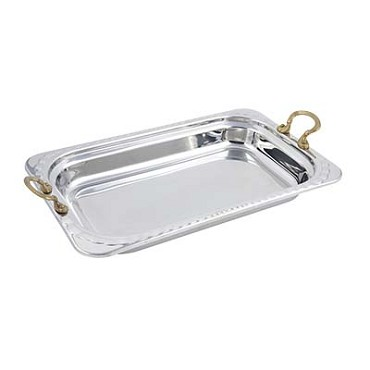 "Bon Chef 5608HR - Food Pan, full size, 9 qt., 21-1/2"" x 13-1/2"" x 2-5/8"" , rectan"