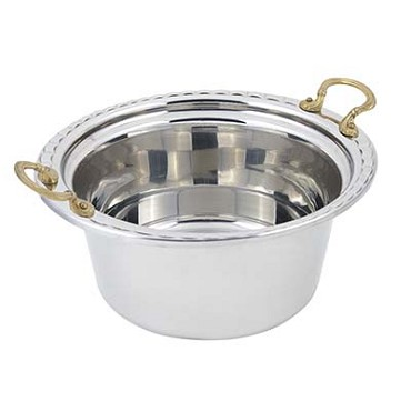 "Bon Chef 5660HR - Casserole/Steamtable Dish, 5 qt., 12-9/16"" x 11-1/2"" x 5-1/2"" ,"