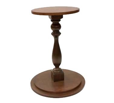 "Bon Chef 61285 - Ice Beverage Pedestal, 24"" , wood"