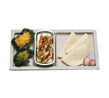 "Bon Chef 9084 - Compartment Tray, 9.5"" x 18"", rectangle, (Case of 3)"