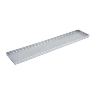 "Bon Chef 9531 - Tray, rectangular, 6"" x 30"" x 1"" , Pewter-Glo"