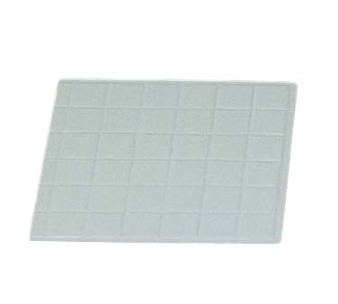 "Bon Chef 96011/2 - Tile Tray, 1/2 size, 13-1/2"" x 14-1/4 inch, aluminum"