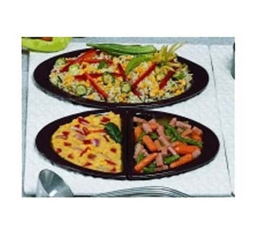 "Bon Chef 963025102 - Tile Tray, single size, 13-1/8"" x 21-1/2"" , for (2) #5102,"