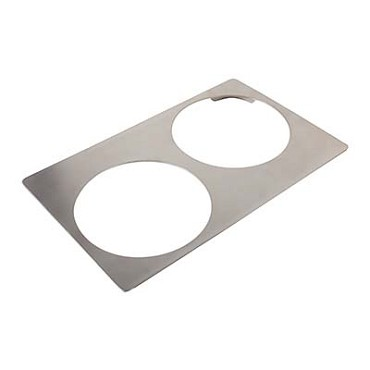 Bon Chef 52089 - Tile Inset, 12-3/4 X 20-13/16 in., for (2) #60014, stainless steel
