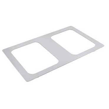 Bon Chef 52091 - Tile Inset, 12-3/4 X 20-13/16 in., for (2) #5220, stainless steel