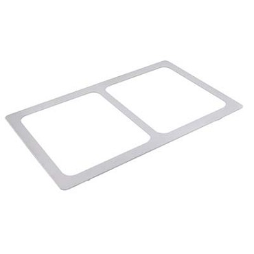 Bon Chef 52115 - Tile Inset, 12-3/4 X 20-13/16 in., for (2) #60013, stainless steel
