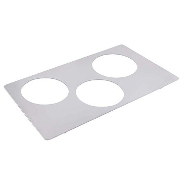 Bon Chef 52008362299 - Tile Inset, plain, 12-3/4 X 20-13/16 in., for (3) #62299NC