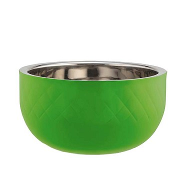 Bon Chef 9316DILIME - Serving Bowl, 7 qt., 12 dia., triple wall, lime