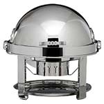Bon Chef 12010CH - Elite Chafer, 2 gallon, round, stainless steel with chrome plate