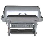 Bon Chef 12040CH - Elite Chafer, 2 gallon, rectangular, stainless steel with chrome