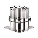 Bon Chef 40507 - Juice Dispenser, triple, (3) 2 gallon each cylinder, 19-1/4