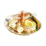 Bon Chef 5013 - Seafood Baking Shell, 3 oz., 4-1/4