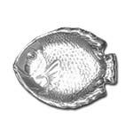 Bon Chef 80254POLISHE - Fish Dish, 8.75